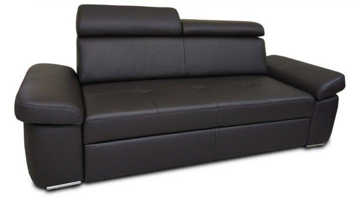 Кожаный двухместный диван Кливленд B9-188
