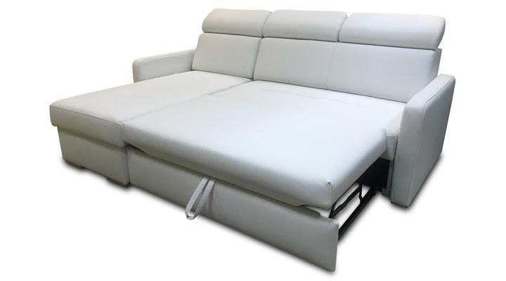 Кожаный угловой диван Кливленд мини В11-214 - 3
