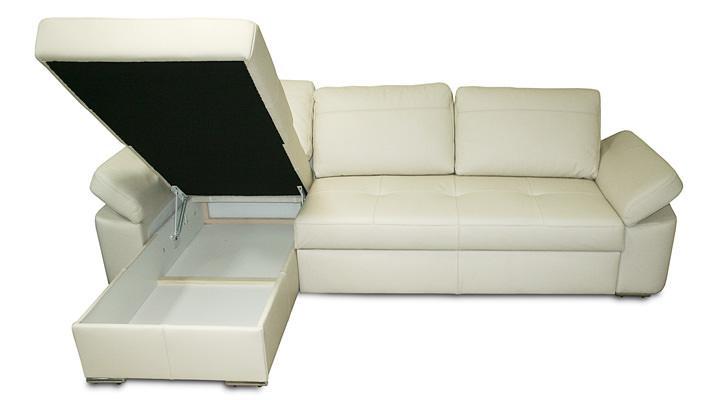 Кожаный угловой диван Филадельфия B9-274 - 4