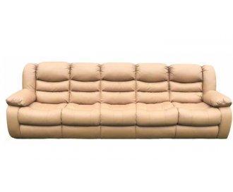 Пятиместный кожаный диван Манхэттен