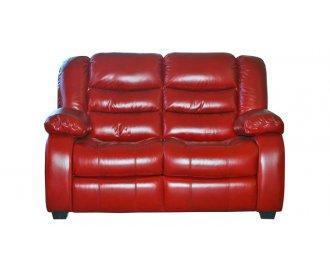 Кожаный двухместный диван  Манхэттен