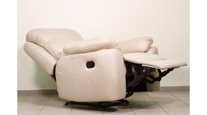 Кожаное кресло реклайнер Манхэттен - 4
