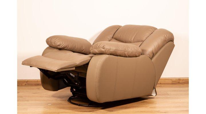 Кожаное кресло реклайнер Манхэттен - 2