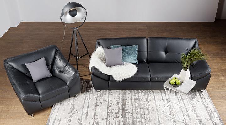 Кожаный диван Небраска - 8