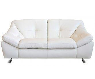 Кожаный двухместный диван Небраска