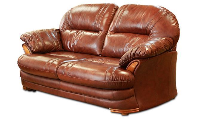 Кожаный двухместный диван Нью-Йорк - 4