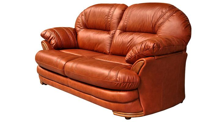 Кожаный двухместный диван Нью-Йорк - 5