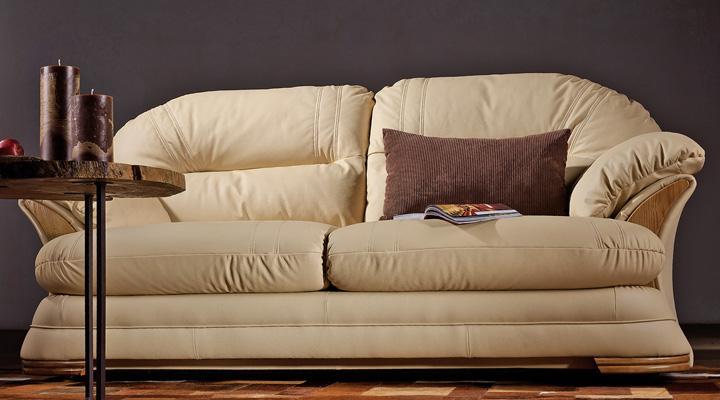 Кожаный двухместный диван Нью-Йорк - 10