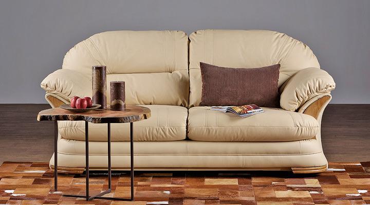 Кожаный двухместный диван Нью-Йорк - 12