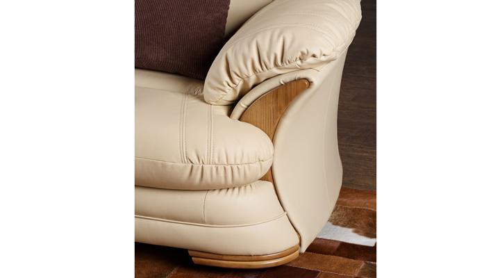 Кожаный двухместный диван Нью-Йорк - 11