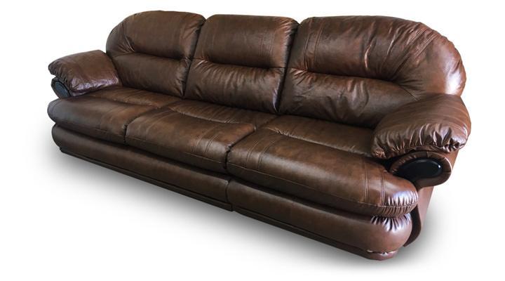 Кожаный четырехместный диван Орландо - 3