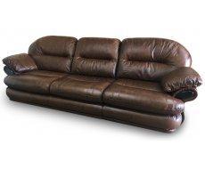Кожаный четырехместный диван Орландо