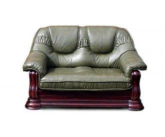 Кожаный двухместный диван Gryzli (Гризли)