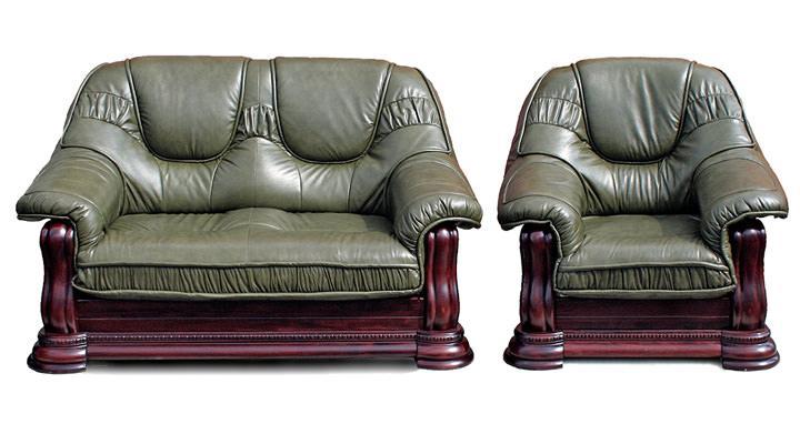 Кожаный диван Gryzli (Гризли) - 3