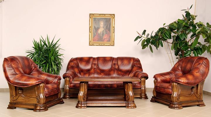 Кожаный диван Gryzli (Гризли) - 6