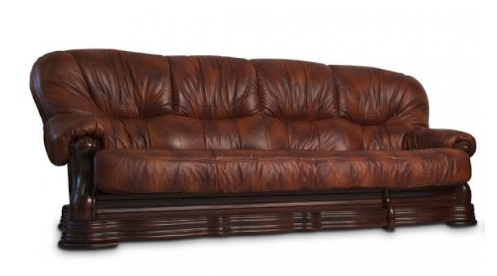 Кожаный четырёхместный диван Senator (Сенатор)