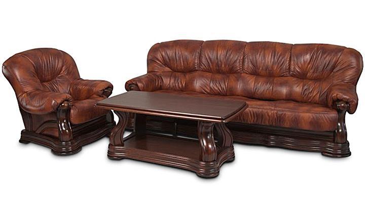 Кожаный четырёхместный диван Senator (Сенатор) - 6