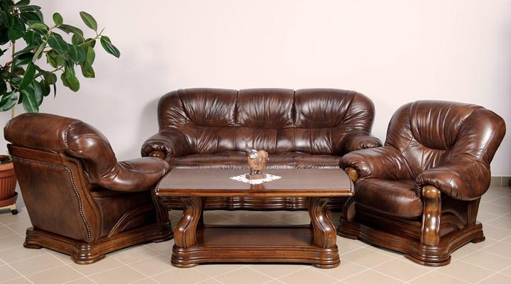 Кожаный четырёхместный диван Senator (Сенатор) - 3