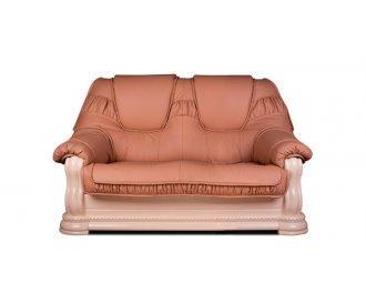 Кожаный двухместный диван Гризли лайт 160