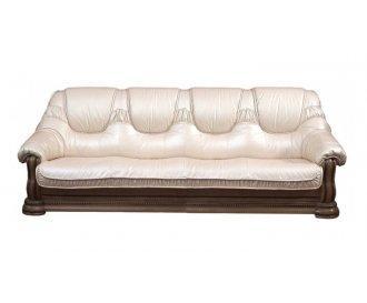 Кожаный четырехместный диван Гризли 280