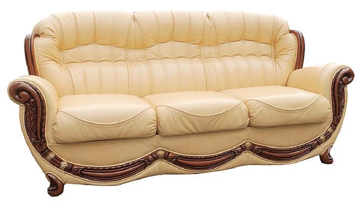 Кожаный диван Джове