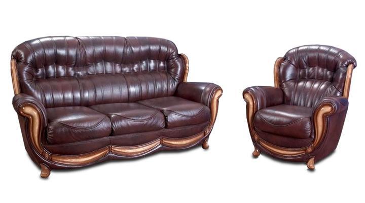 Кожаный диван Джове - 2