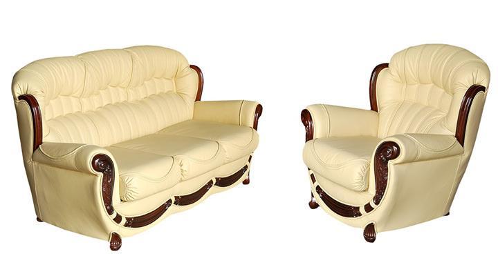 Кожаный диван Джове 1 - 3