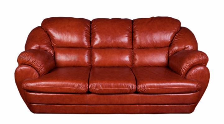 Кожаный диван Идэн
