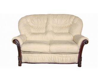 Кожаный двухместный диван Фрэйзер