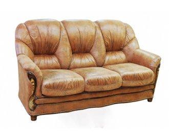 Кожаный диван Руби