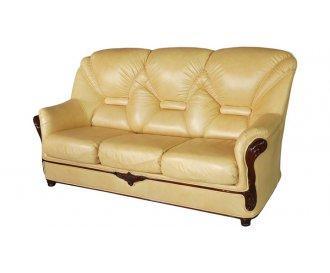 Кожаный диван Вилон
