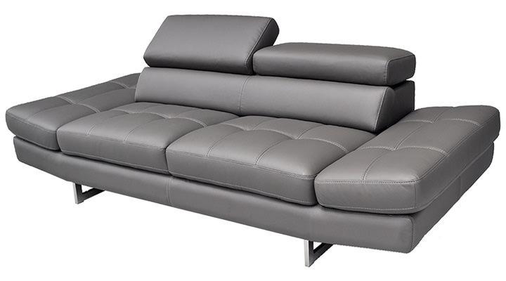 Кожаный двухместный диван LN-1 (ЛН-1) - 3