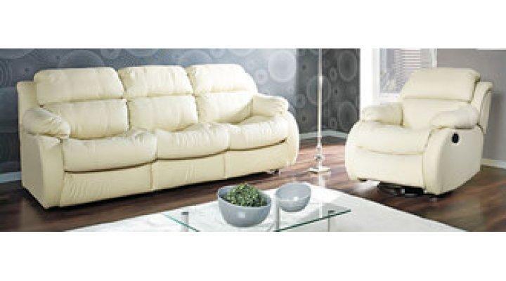 Кожаный диван Реглайнер - 3