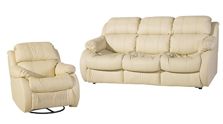 Кожаный диван Реглайнер - 2