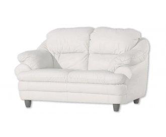 Кожаный двухместный диван Sara (Сара)