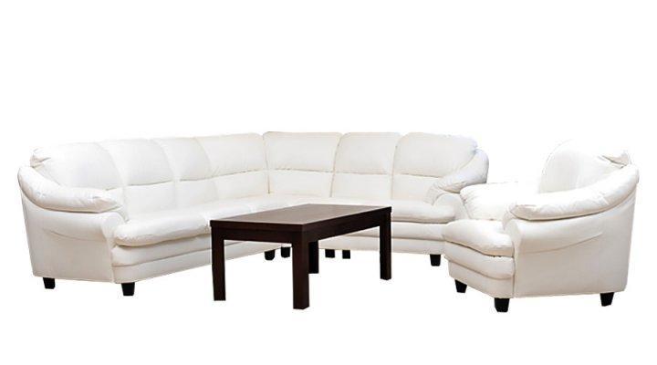 Кожаный угловой диван Sara (Сара)