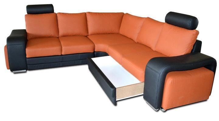 Кожаный модульный диван Enzo (Энцо) - 3