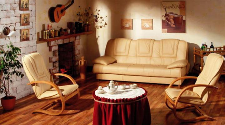 Кожаный диван Finka (Финка) - 2