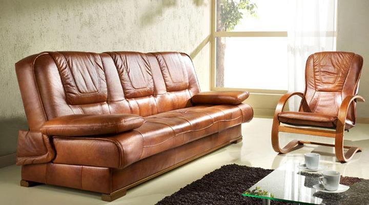 Кожаный диван Finka (Финка) - 7