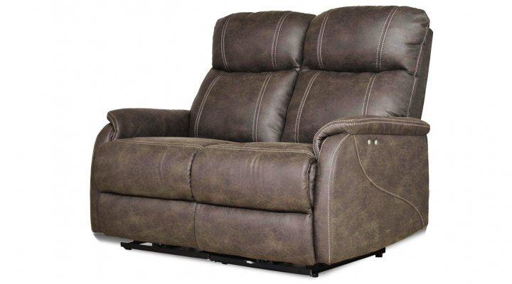 Кожаный двухместный диван Рио