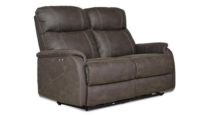 Кожаный двухместный диван Рио - 3