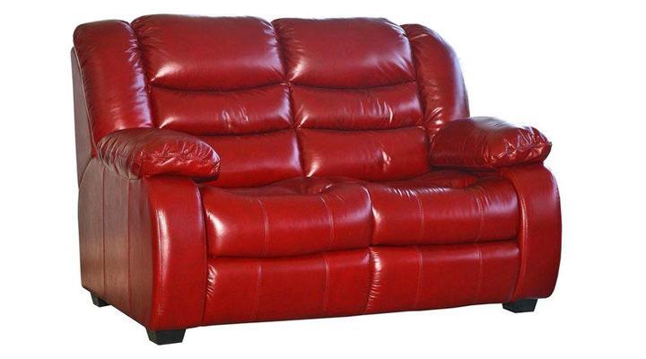 Кожаный двухместный диван Эшли - 2