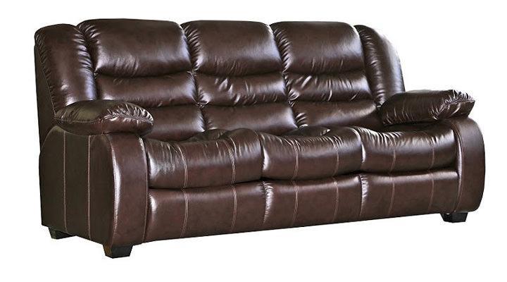 Кожаный диван Эшли - 5