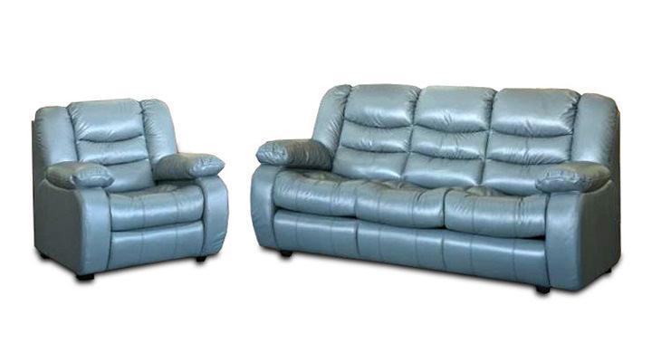 Кожаный диван Эшли - 3
