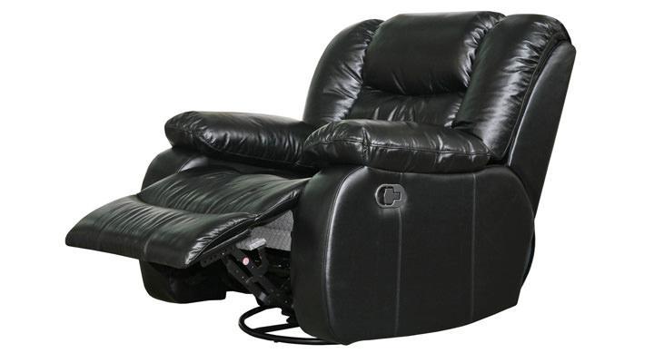 Кожаное кресло реклайнер Эшли - 4