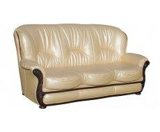 Кожаный диван Плай