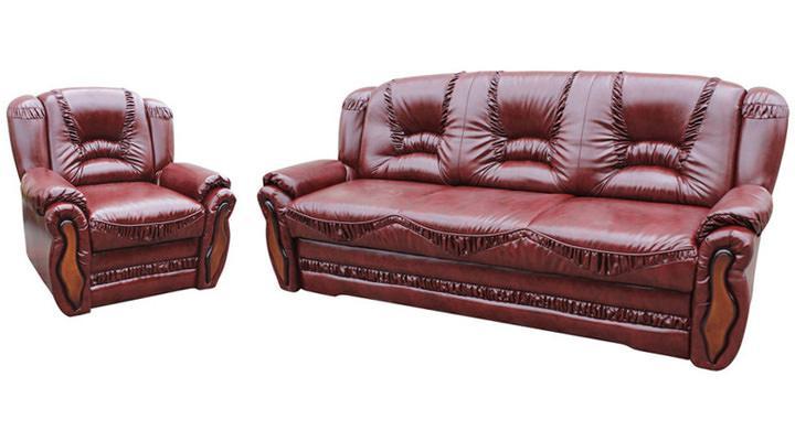 Кожаный диван Васко - 3