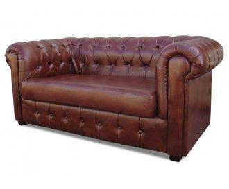Кожаный диван Марк