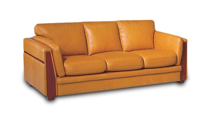 Кожаный диван Суаве