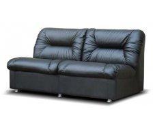 Кожаный двухместный диван Визит